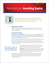 The Benefits of Investing in a Retirement Savings Plan poster